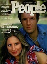 James Caan Barbra Streisand People Magazine March 10 1975