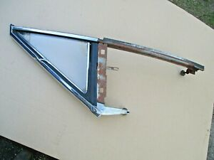 GM OLDS PONTIAC CHEVY BUICK A-BODY 1968 2-DOOR HARDTOP LH VENT WINDOW ASSEMBLY