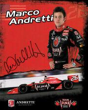 Marco Andretti (estados unidos) IndyCar Series, Fórmula e original firmado/signed!!!