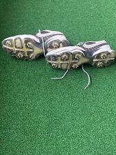 Nike Mens Lunarlon Golf Shoes 552074-101 Flywire Leather White Black Size 11 W