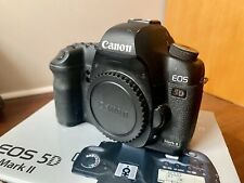 Canon EOS 5D mark II Body Only In Original Box - Less Than 10k Shots