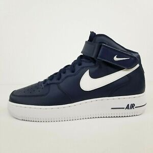 Nike Air Force 1 Mid '07 AN20 Navy Blue White CK4370-400 New Men's Shoes No Lid