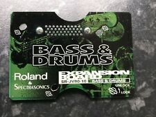Roland JV80-10 Bass & Drum Expansion Card VGC JV1080/2080