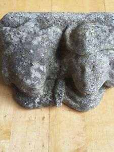 Antique Architectural  Corbel Carved princes or kings? Male church Religious UK