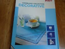Genuine Pfaff Coverlock Collection Decorative Foot Set #820368-096 New Home Elna