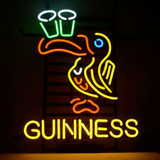 Guinness Toucan Home Dublin Beer Club Store Ale Neon Light Sign Lamp 17''x14""