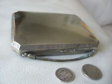 Antique Auto Classic Car Art Deco Powder Holder Carryall Vanity Compact Purse