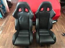Mini Cooper S R53 JCW Sitze Sparco Leder schwarz Sitzheizung inkl. Konsolen