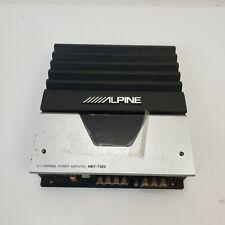 Alpine V12 Mrv-T320 2/1 Channel Mono Car Subwoofer Amp Amplifier 12V max