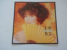 K.T. Oslin Love in a Small Town 1990 LP Record Photo Flat 12x12 Poster