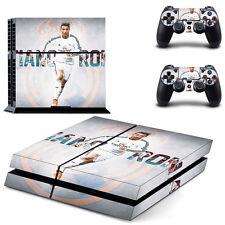 Cristiano Ronaldo Vinyl Full Body Skin Sticker for Sony PS4 Console 2 Controller