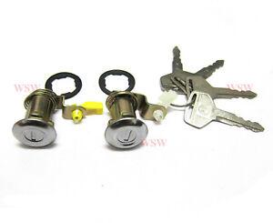 DOOR LOCKS SET CYLINDER FOR Nissan Pickup Hardbody D21 Navara King Cab Pickup 86