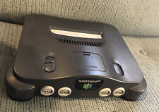 N64 Smoke Gray Console Only Jumper Pak Nintendo 64 Tested