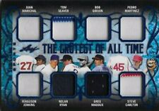 2019 ITG Game Used Jersey Patch Ryan Martinez Seaver Maddux Carlton Jenkins 9/35