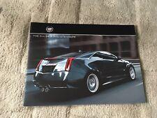 Cadillac tous les nouveaux CTS coupé brochure 2011. NOS