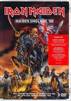 IRON MAIDEN - MAIDEN ENGLAND 2 DISC SET INCLUDES 12 WASTED YEARS HISTORY PART 3