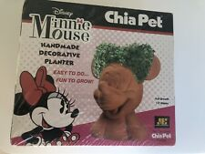Chia Pet New Minnie Mouse Factory Sealed Disney Decorative Planter