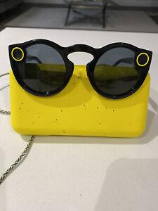 Snap Inc. Snapchat Spectacles sunglasses black