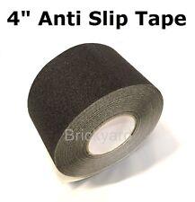 "4"" x 30' BLACK Roll Safety Non Skid Tape Anti Slip Tape Sticker Grip Safe Grit"