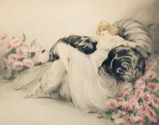 Icart Louis Elegant Lady Print 11 x 14   #4085