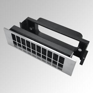 Silverline U-START 811 Umluft-StarterSet für Kochfeldabzüge mit Aktivkohlefilter