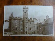 R066 EDINBURGH CASTLE West Front of Palace Postcard H.M. Office of Works