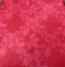 10 x Red Ducksback 120cm Table Covers Reusable Wipe-able Disposable Xmas
