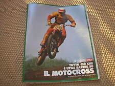 EPOCA GUIDA MOTOCROSS 1978 ROGER DE COSTER SUZUKI 500 BETA 125 CR ABBIGLIAMENTO