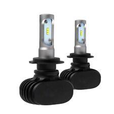 12V H7 Chips CSP 50W 8000LM Auto LED fanale Fari Bulb Nebbia Luce 6500K COPPIA L