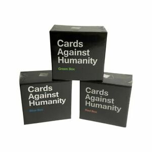 Cards Against Humanity Red Green Blue Box Expansion Pack Au Stock