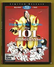Disney 101 Dalmatians SLIPCOVER ONLY fits blu-ray case