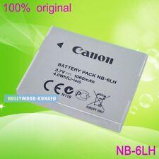 Genuine Original NB-6LH NB6LH Battery for Canon NB-6L CB-2LY CB-2LYE Charger