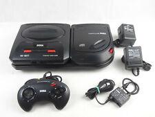 Mega CD 2 + Mega Drive 2 Console + Controller