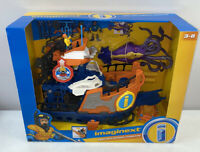 IMAGINEXT DEEP SEA MISSION COMMAND BOAT  MINI SUB LOAD THE SQUID FISHER PRICE