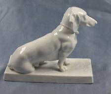 Dackel Figur Fraureuth Porzellanfigur Hundefigur hund porzellan pflug