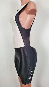 Orca Women's Triathalon Race Suit Black White XS