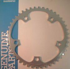 Shimano 600 EX FC-6207 44Tx130BCD NEW / NOS W-Cut Road Chainring- 5/6/7/8-Spd-