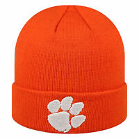 Clemson Tigers NCAA Cuffed Knit Beanie Hat Cap By TOW(Top of the world)