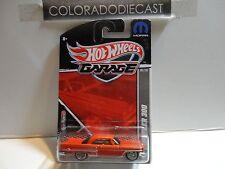 Hot Wheels Garage Orange '57 Chrysler 300 w/Real Riders