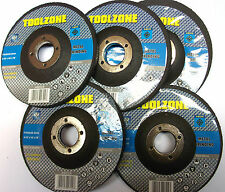 Metal Grinding Discs Pack Of 5 For Cleaning And Grinding Metal TZ AB028 New