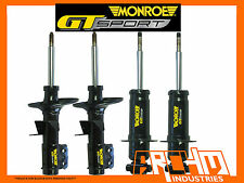 VE V6 COMMODORE SEDAN - MONROE GT SPORT F&R LOWERED (SHORT) STRUTS/SHOCKS