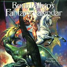 BORIS VALLEJO ~ 1998 ~ FANTASY CALENDAR ~ BRAND NEW