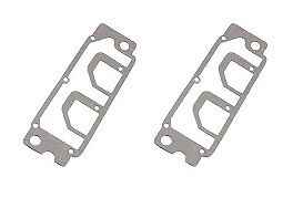 Two Valve Cover Gaskets (Graphited), Lower, Porsche 911, 930.105.195.00, (68-89)