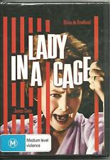 LADY IN A CAGE - OLIVIA DE HAVILLAND - JAMES CAAN - DVD  NEW -