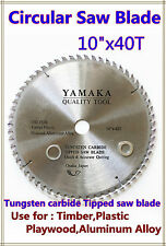 "Circular Saw Blade (250mm)10""x40 Teeth Timber Plastic Plywood Premium Quality"
