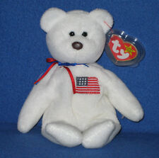 ORIGINAL TY LIBEARTY the BEAR BEANIE BABY - MINT TAGS