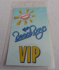 THE BEACH BOYS Laminated VIP Backstage Tour Pass