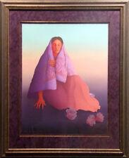 """R.C.Gorman """"Desert Bloom"""" framed Lithograph Hand Signed Art Print, Make Offer!"""