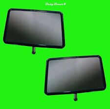Toyota Landcruiser 70 75 78 Hilux Ute Door Mirror Head Left Right Side Pair Set