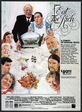 EAT THE RICH__Original 1988 Trade print AD promo__PETER RICHARDSON__ANGIE BOWIE